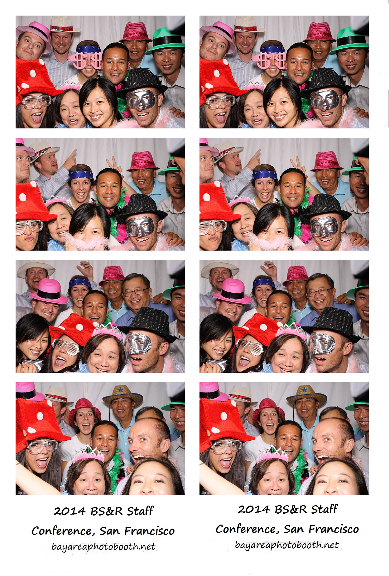 Bay Area Photo Booth picture strips